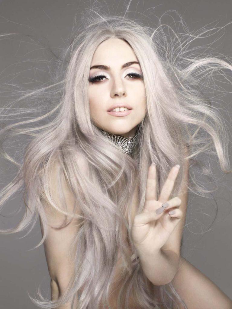 gaga_silver_hair